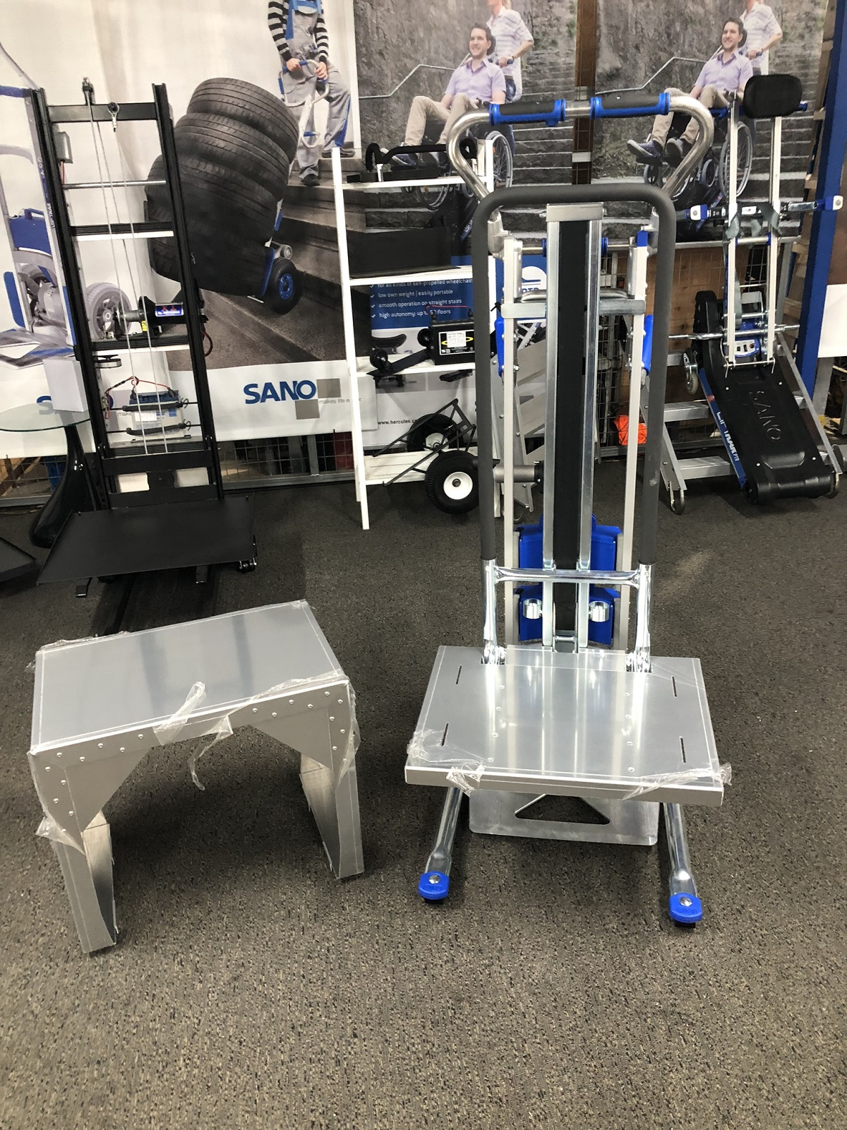 2019 – Battery Stairclimbing Stacker